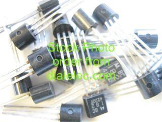 Bc182a: transistor silicon plastic npn.